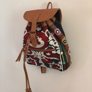 Cleobella embroidered back pack